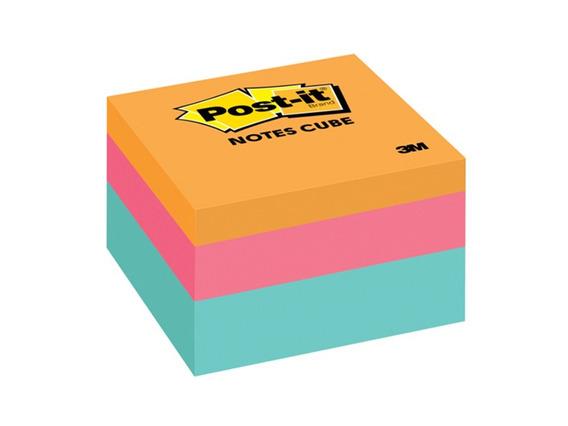 Notas Adhesivas 3m Post-it Cubo 3 Colores 76x76cm