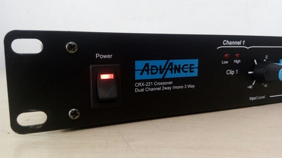 Crossover Advanced 3 Vias Crx221 Stereo Semi Novo