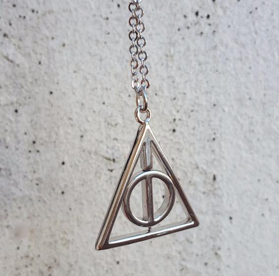 Colar Reliquias Da Morte Harry Potter