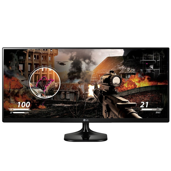 Monitor Lg Led 25´ Class 21:9 Ultrawide Ips Fhd 25um58 75hz