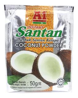 Coco En Polvo Santan X 50 Gr Saludable Malasia