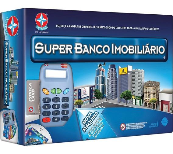 Jogo Super Banco Imobiliário - Seminovo