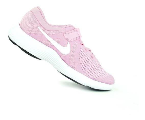 Tenis Nike Niñas Revolution 4 Flexible Durabilidad Y Agarre