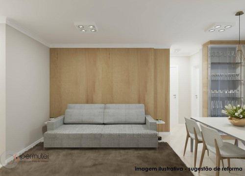 Apartamento Com 2 Dormitórios À Venda, 64 M²  - Vila Madalena - São Paulo/sp - Ap1280