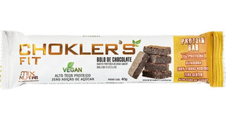 Barra Proteica Choklers Fit Caixa C/20 40g