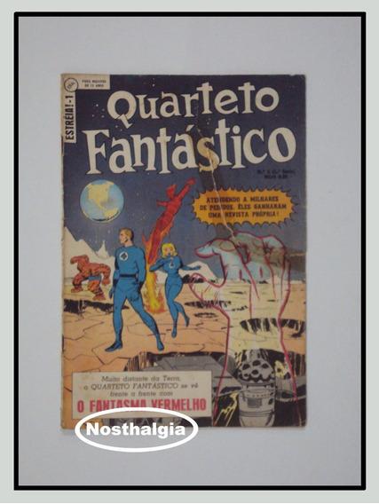 Quarteto Fantástico - N.1 - Ebal - 1.série - 1970 - F(4001)