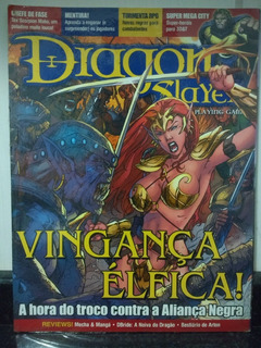 Revista Dragon Slayer 33 Lacrado Tormenta Rpg Escala Rjhm