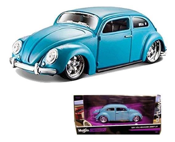 Maisto Desing 1/24 Volkswagen Beetle Outlaws Vw Escarabajo
