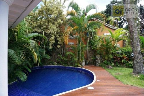 Casa Com 6 Dormitórios À Venda Por R$ 4.500.000,00 - Centro - Paraty/rj - Ca1023