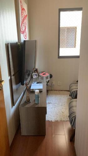 Apartamento À Venda, 3 Dormitórios, Sendo 1 Suíte, Sala Com Sacada E 2 Banheiros - Santo André/sp - 79215