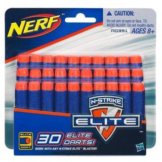 Dardos Nerf N-strike Elite Pack X30 Original Hasbro Planeta