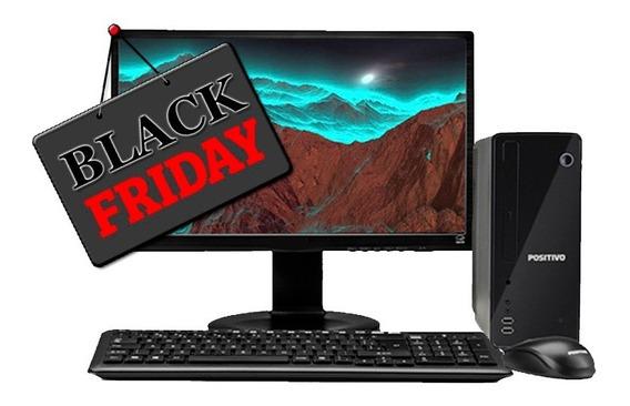 Computador Pc Positivo Stilo Celeron 4gb Hd320gb Blackfriday