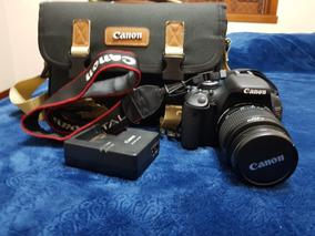 Canon T3i + Lente 18-55mm + Bolsa + Tripé E Acessórios