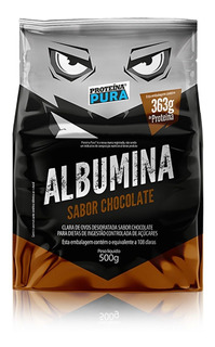 Albumina Pura Desidratada 500g - Proteína Pura Original