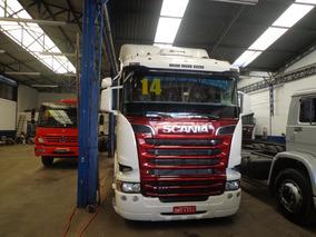 Caminhão Scania R-440 2013/14 Truck 6x4 Branca Nova