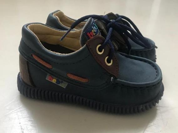 Zapatos Náuticos Azules Beb