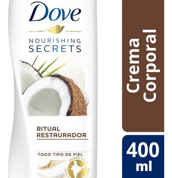 Crema Corporal Nourishing Secrets Dove Coco Y Almendras 400m