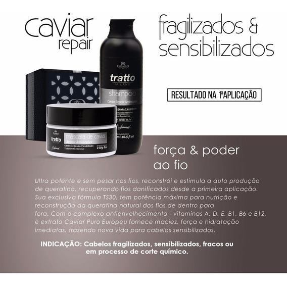 Recuperação Imediata Caviar - Cabelos Danificados | Cosmezi