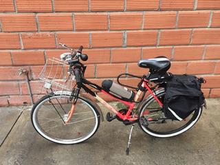 Bicicleta Eléctrica Urbana Alforja Luz Acelerador Pulgar