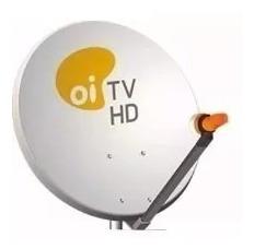 Antena Parabólica 60 Cm = Logo Oi - Lnb Duplo= (usada)
