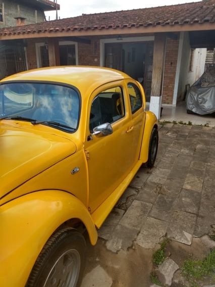 Volkswagen Fusca Amarelo 1983