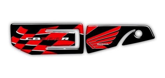 Adesivo Para Protetor De Escapamento Honda Cb300 Cb 300 047