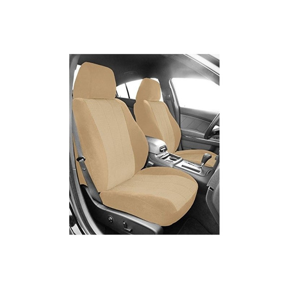 Caltrend Vw178-05rr Sandstone Custom Tailored Seat Cover
