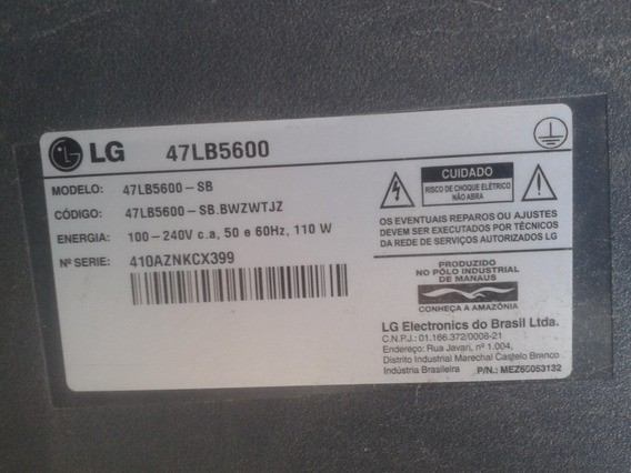 Placa Fonte LG 47lb5600 Eax65423801(2.1)