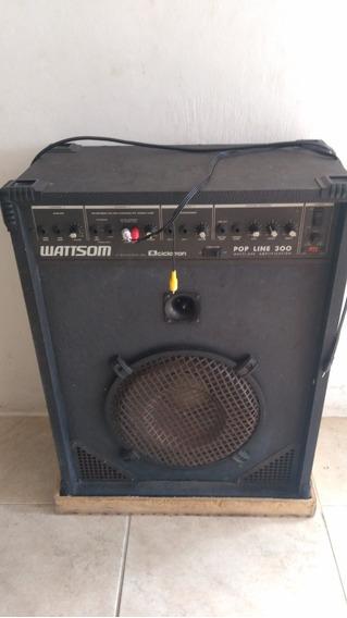 Caixa Amplificada Wattsom Pop Line 300