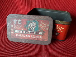 Antigua Lata De Té Tigre - Año 1959 - Excelente!!