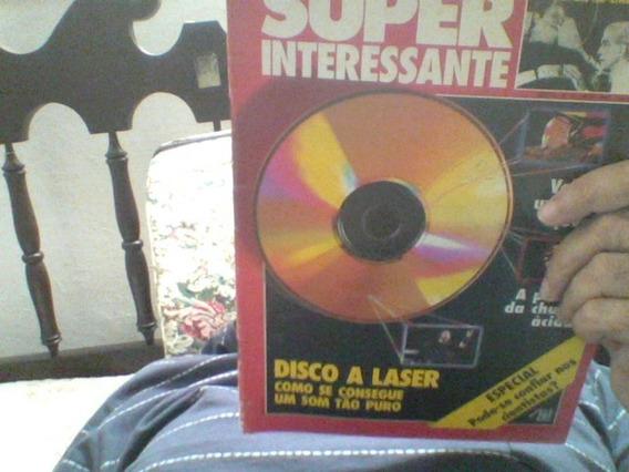 Revista Super Int Maio 1990 Disco A Laser