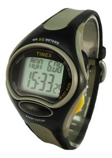 Reloj Timex Indiglo Quartz Digital Wr50 Luz Crono Garantía