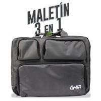 Maletin 3 En 1 Ghia 15.6 Negro