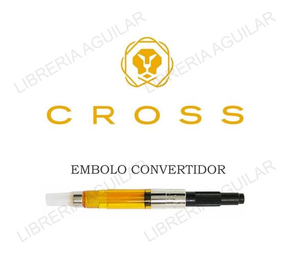 Convertidor Cross Cargador Pluma Frasco De Tinta Embolo