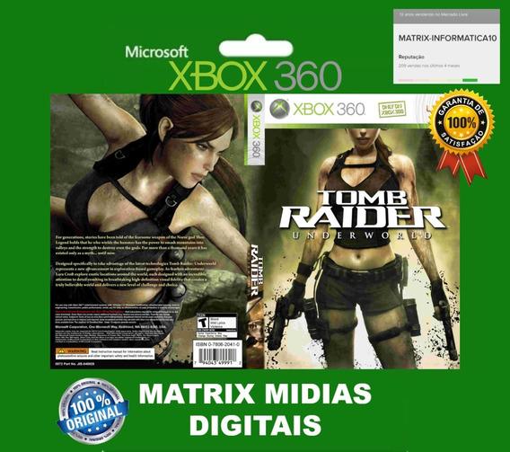 Xbox 360 Tomb Rider Underworld - Mídia Digital