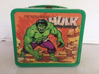 Hulk Lonchería Metálica Aladdin 1978