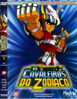 Dvd Cavaleiros Do Zodíaco - Fase Santuário: O Início Vol. 1