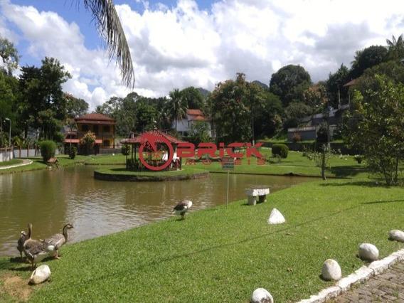 Ótimo Terreno Plano Com 500 M² Em Condomínio Em Guapimirim. - Te00219 - 34076652
