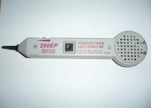 Amplificador De Tono 600 Ls Y Generador De Tono 200ep Progre