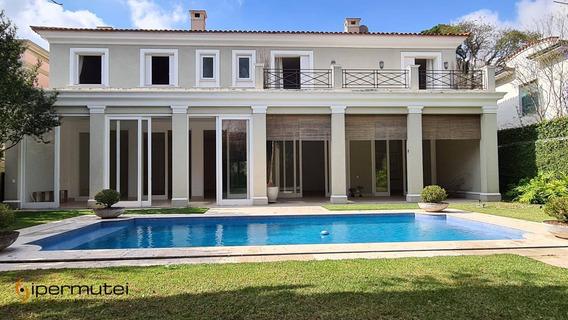 Maravilhosa Casa Com 4 Suites À Venda, 750 M² - Jardim Europa - São Paulo/sp - Ca0078