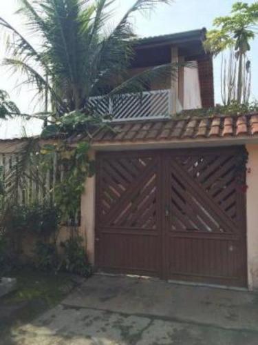 Ótimo Sobrado Com Varanda Na Vila Loty - Itanhaém 4378   Npc