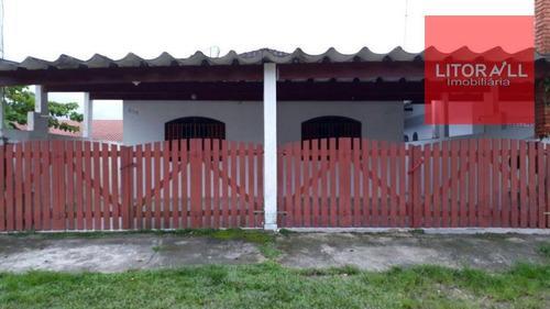 Imagem 1 de 13 de Casa Residencial À Venda, Vila Loty, Itanhaém. - Ca1090