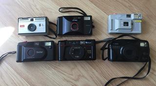 Lote Cámaras Fotográficas Antiguas 35mm