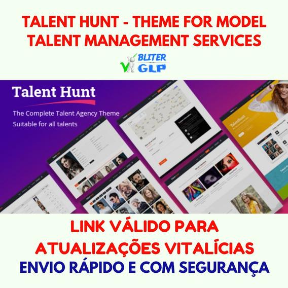 Talent Hunt - Theme For Model Talent Management Services