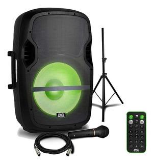 Bafle Potenciado 15 Probass Elevate Lp Usb Sd Bluetooth