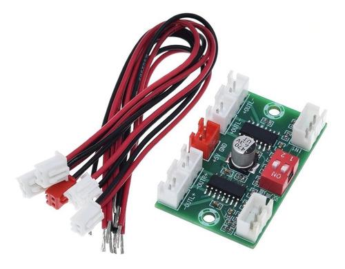 Amplificador Audio Pam8403 4 Canales 4x3w 5v 12w Xh-a156