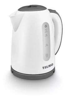 Pava eléctrica Yelmo PE-3909 blanca y gris 1.7L