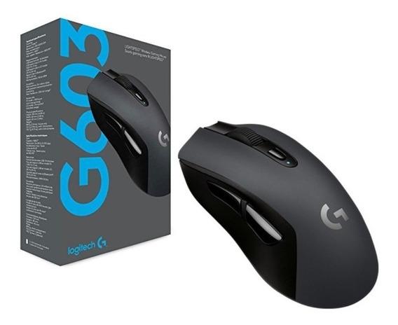 Mouse Logitech Gamer G603 Sem Fio Lightspeed