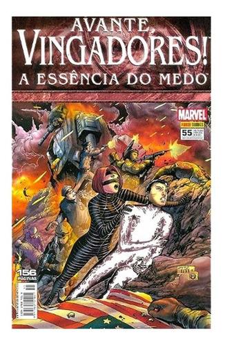 Avante Vingadores 55 Marvel Panini A Essência Do Medo