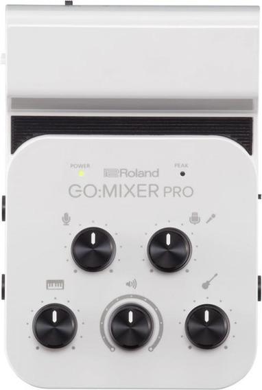 Interface De Áudio Para Smartphone Roland Go Mixer-pro